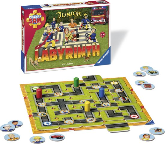 Ravensburger Fireman Sam junior Labyrinth - kinderspel