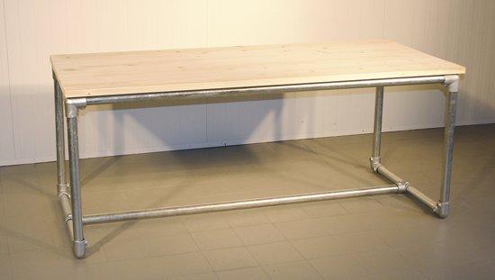 Steigerbuis Tafel Onderstel : Bol design steigerbuis tafel u poot