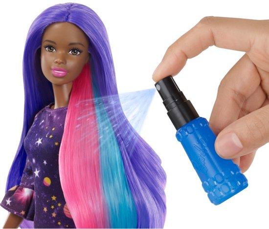 Barbie Color Surprise Haarset Afro American - Barbiepop