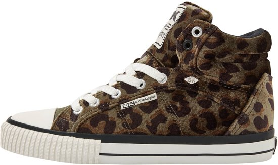 8d271369c42 British Knights DEE DAMES SNEAKERS HOOG, GREEN, 40, POLYESTER
