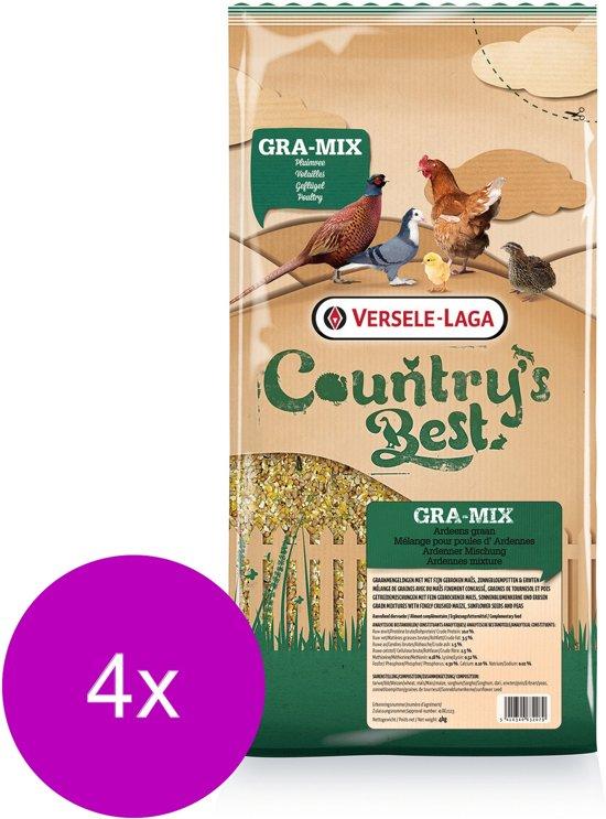 Versele-Laga Country`s Best Gra-Mix Ardeens Graan Gebroken Mais - Kippenvoer - 4 x 4 kg