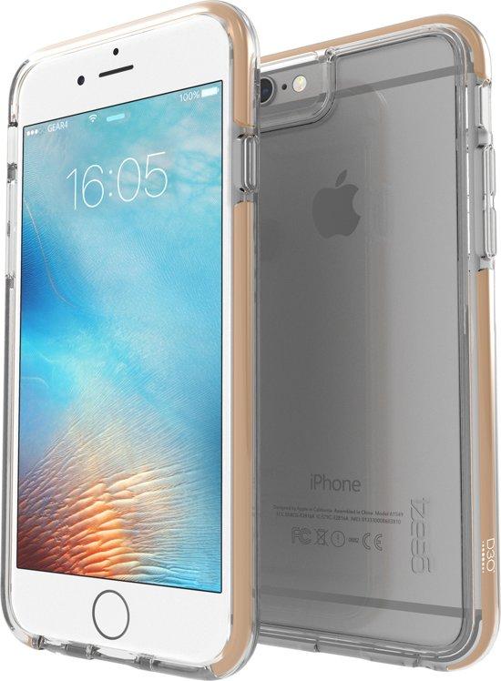 GEAR4 Black Icebox Tone Case - Apple iPhone 6/6s Hoesje - Goud in Aalsum / Ealsum