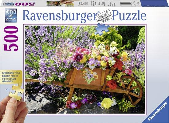 Ravensburger puzzel Bloemschikking - legpuzzel - 500 stukjes