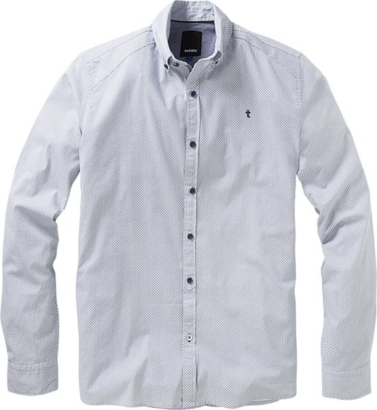 Twinlife Men - Overhemd met button-down kraag