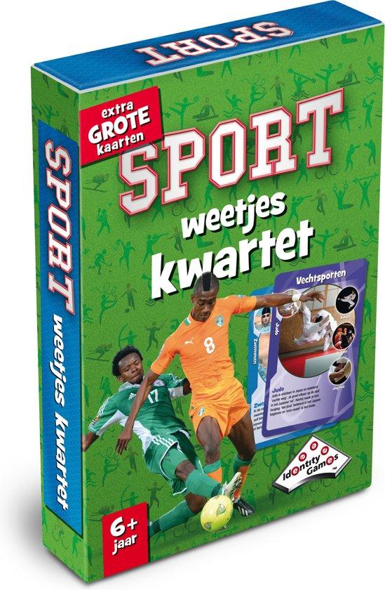 Afbeelding van het spel Sport Weetjeskwartet - Kaartspel - Special Edition