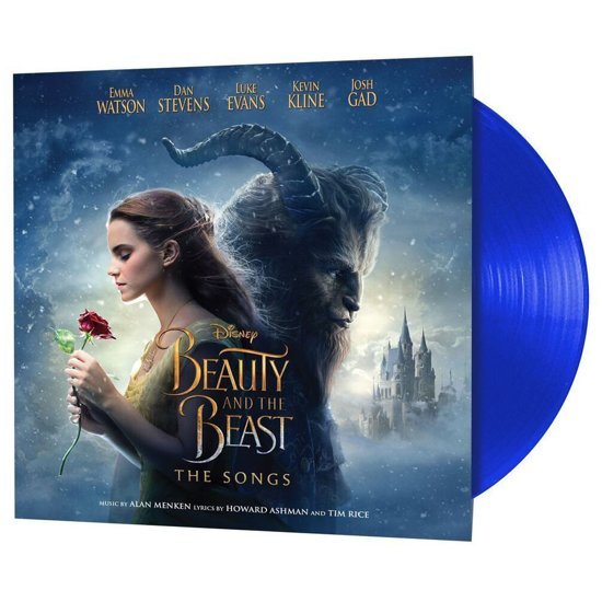 CD cover van Beauty And The Beast (LP) (Blue Edition) van Ost