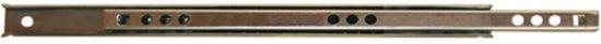 Qlinq Ladegeleider Inbouw - Verzinkt - 25 cm x 17 mm - 2 Stuks
