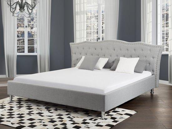 Eenpersoonsbed Met Opbergruimte : Bol.com bed grijs met opbergruimte tweepersoonsbed 160x200 cm