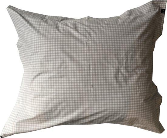 Rindo kussensloop check pearl - 60 x 70 cm