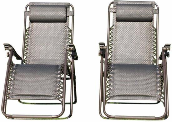 Ligstoel Voor Tuin : Bol set van comfortabele ligstoelen voor in de tuin
