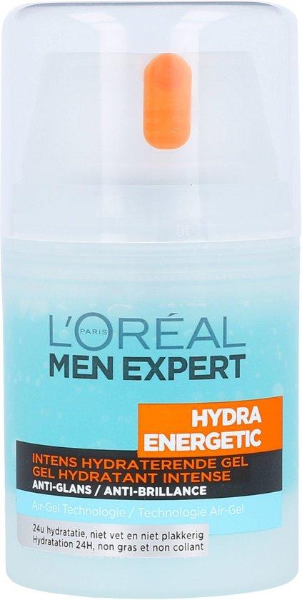 L'Oréal Men Expert Hydra Energetic Gezichtsgel - 50 ml - Hydraterend