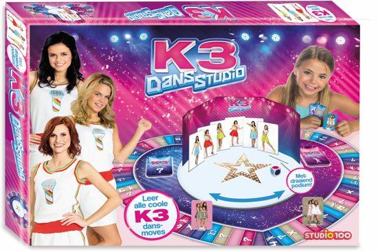 Afbeelding van het spel Studio 100 K3 Kinderspel - Dansstudio