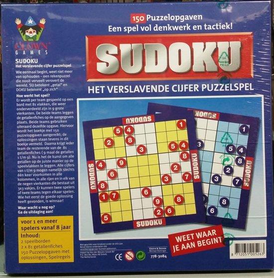 Thumbnail van een extra afbeelding van het spel Sudoku spel