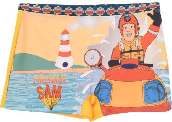 Brandweerman Sam Zwembroek - Geel - 98/104