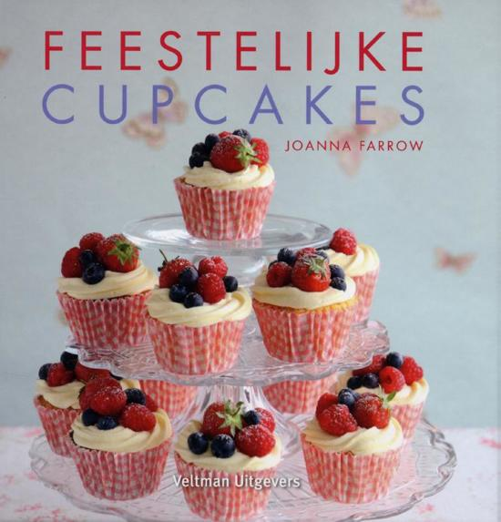 Boek cover Feestelijke cupcakes van Joanna Farrow (Hardcover)