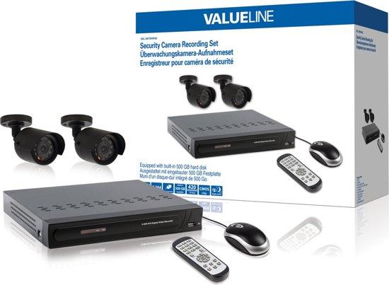 Valueline SVL-SETDVR30 videotoezichtkit