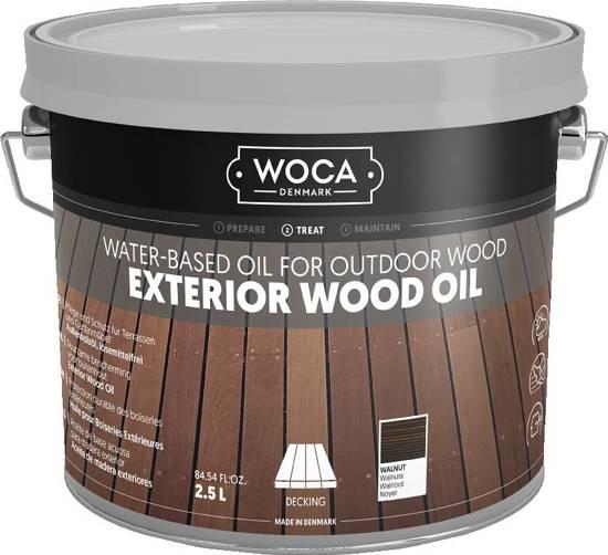 WOCA Exterior Oil WALNOOT - 2,5 liter