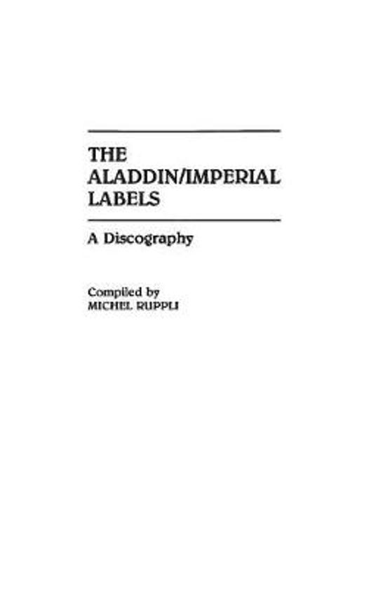 The Aladdin/Imperial Labels