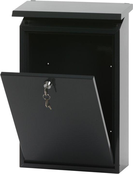 Stalen brievenbus antraciet - 27x12x40 cm