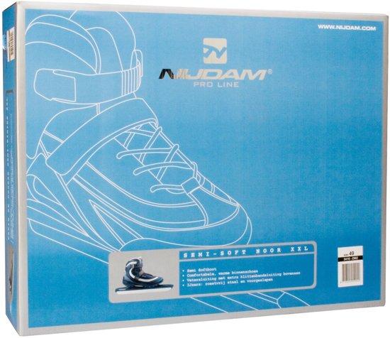Nijdam Norenschaats XXL Pro-Line  - Zwart - Maat 48