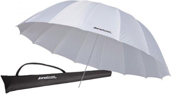 WestCott Paraplu 4632 220cm White Diffusion Parabolic