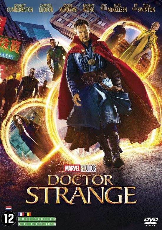 DVD cover van Doctor Strange