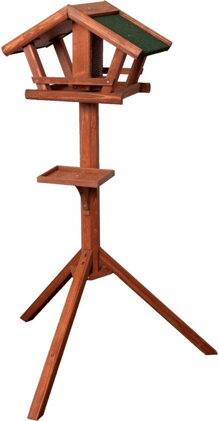 Karlie Flamingo Vogelvoederhuisje - Bruin - 46 cm x 30 cm x 121 cm