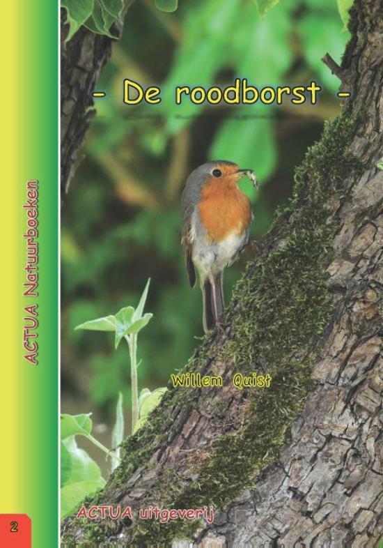 ACTUA Natuurboeken 2 De roodborst