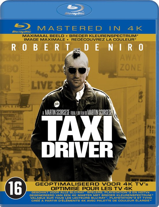 Taxi Driver (Blu-ray - Mastered in 4K)