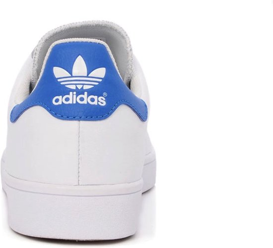 Adidas Stan Smith Wit Blauw