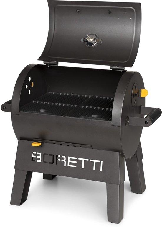 Boretti Gas Bbq.Boretti Terzo Houtskoolbarbecue Compact Zwart