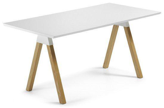 Eettafel wit hout op maat gemaakt google search keuken room
