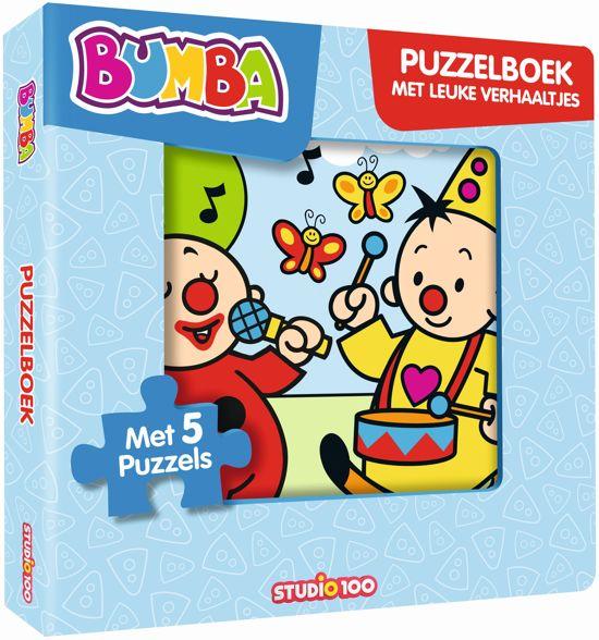 Boek cover Bumba - Puzzelboek met leuke verhaaltjes van Jan Maillard (Onbekend)