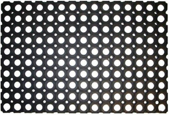 Genoeg bol.com | Rubberen deurmat - 60 x 40 cm - buitenmat LS01