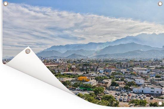 Het zuidelijke deel van Monterrey in de vroege ochtend Tuinposter 90x60 cm - Tuindoek / Buitencanvas / Schilderijen voor buiten (tuin decoratie)