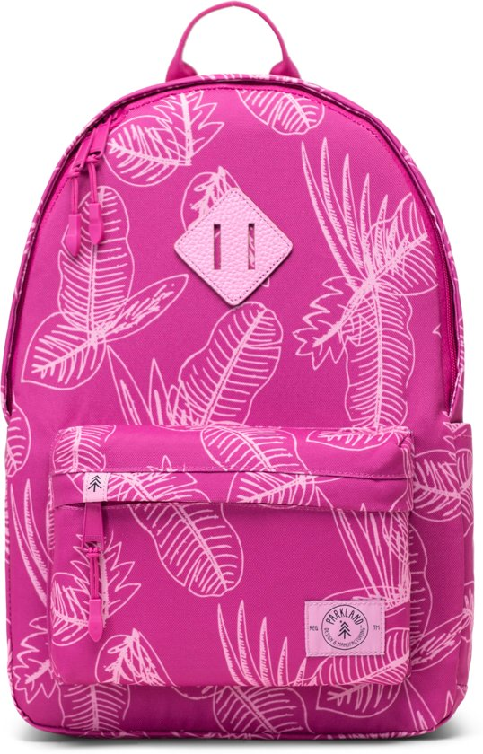 Bayside Leaves Jungle Kids Berry Parkland Backpack 4qxd4T