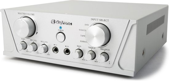 SkyTronic 400W Universele stereo karaoke versterker