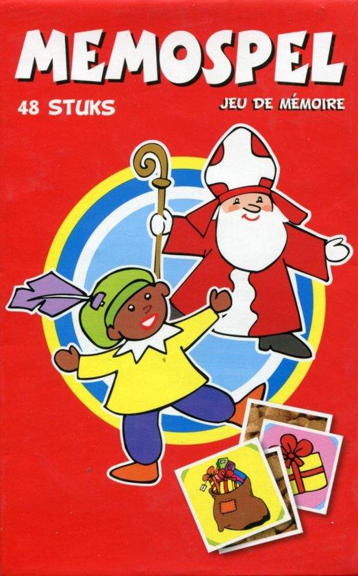 Afbeelding van het spel Sinterklaas en Zwarte Piet Memospel