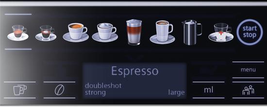 Siemens TE654319RW EQ.6 Plus series 400 Volautomatische Espressomachine