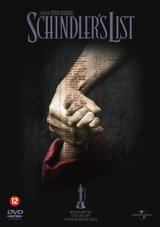 DVD cover van Schindlers List