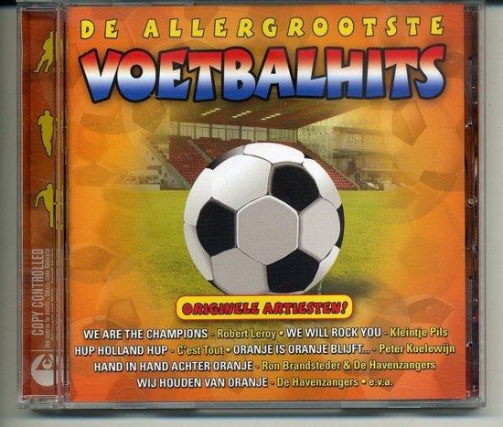 De Allergrootste Voetbalhits - Diverse originele artiesten Dino/EMI 2004