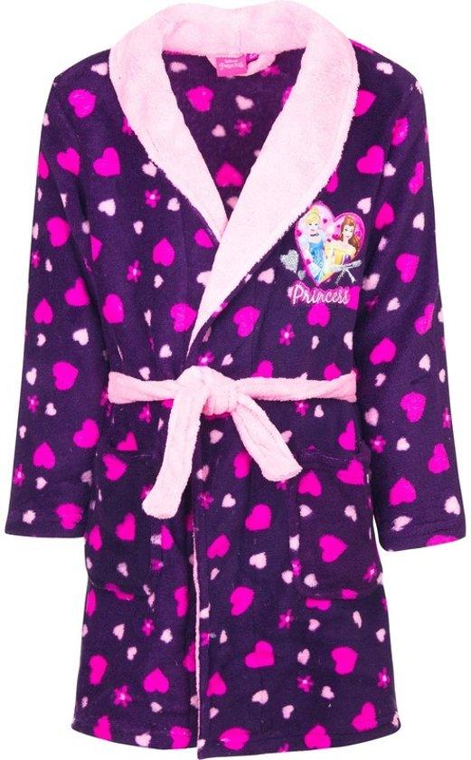 4a675c964e3611 Paarse Princess badjas met capuchon voor meisjes 110 (5 jaar). Bekijk  video. Merk: Disney