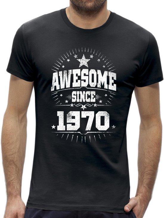Awesome Rood Sterren Abraham 50 Jaar T Shirt Kado Tip Heren Maat Xl Origineel Verjaardag Cadeau Man