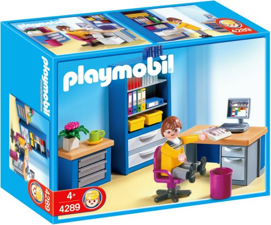 playmobil studeerkamer 4289 playmobil. Black Bedroom Furniture Sets. Home Design Ideas