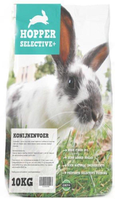 Hopper selective plus konijnenvoer 10 kg