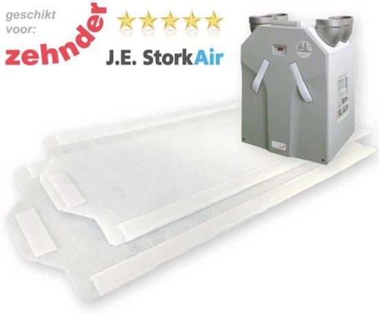 WHR 930 FIJN-filters [M6] voor Zehnder JE StorkAir | DoosVoordeel 10 sets WTW Filters