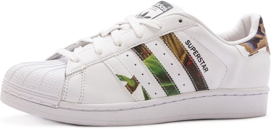 bol.com | Adidas Superstar Dames Sneakers - Hawaii Print ...