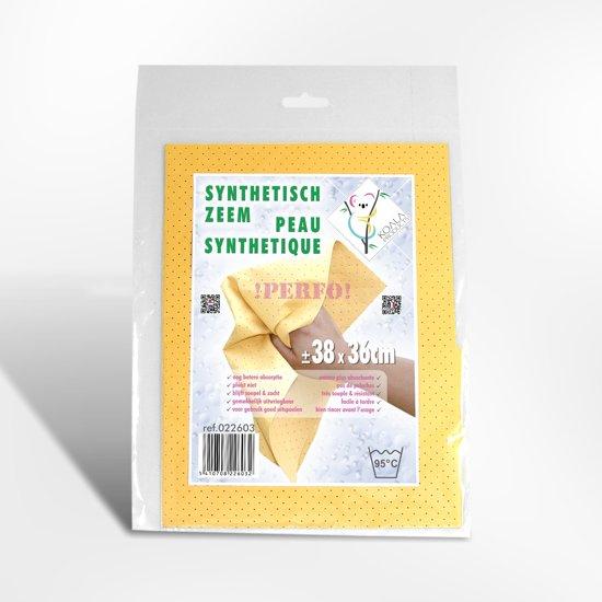 KOALA PERFO Synthetisch zeemvel 38 x 36 mm- 10 stuks