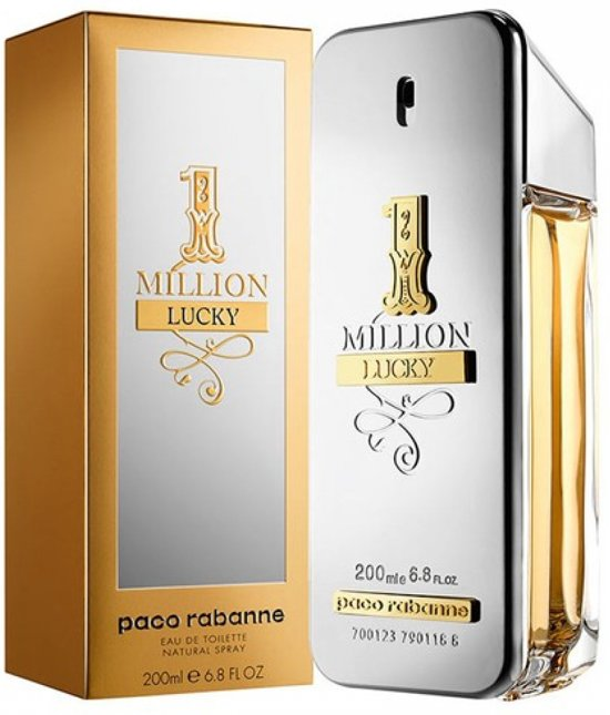 Paco Rabanne - Eau de toilette - 1 Million Lucky - 200 ml