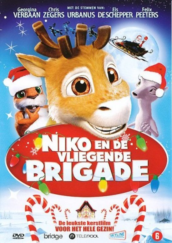 Cover van de film 'Niko En De Viegende Brigade'